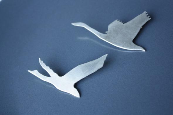 cignes swans joutse
